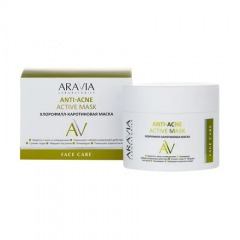 ARAVIA Laboratories, Хлорофилл-каротиновая маска Anti-Acne Active, 100 мл